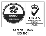 ISO 9001 Certificate No: 13595